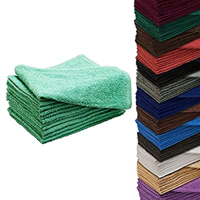 "24 Pack 16"" x 27"" Cotton Hair Drying Towels"