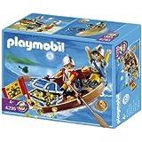 Playmobil - 4295 - Soldats + Barque et Tresor