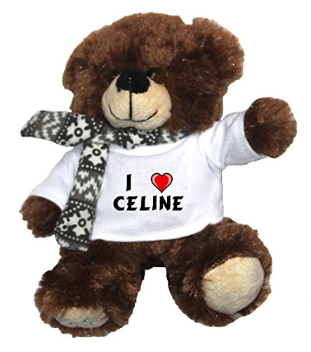 personalised-bear-plush-toy-with-i-love-celine-t-shirt-first-name-surname-nickname
