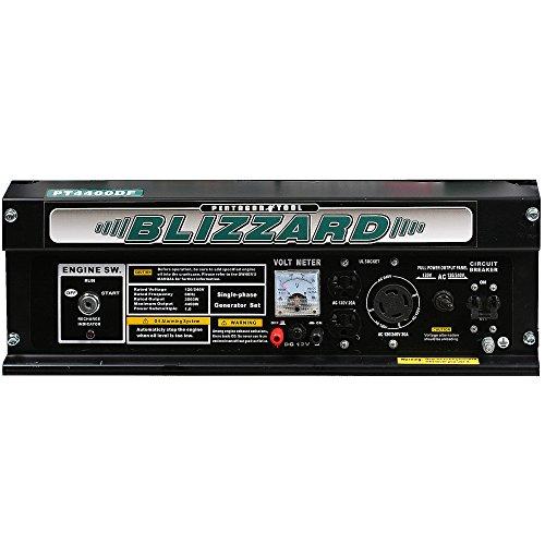 Pentagon Tool Pentagon Tools Blizzard PT4400DF Dual Fuel Portable Generator 7.5 HP Peak 4400W