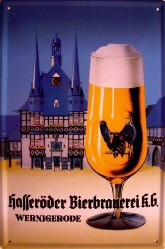 town-hall-wernigerode-tin-sign-with-hasseroder-beer-sheet-metal-sign-metal-tin-sign-20-x-30-cm