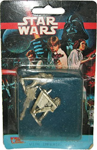 1993 West End Games Star Wars Imperial Crew & Heavy Blaster Pewter Miniature #40410 (Vintage Imperial Gunner compare prices)