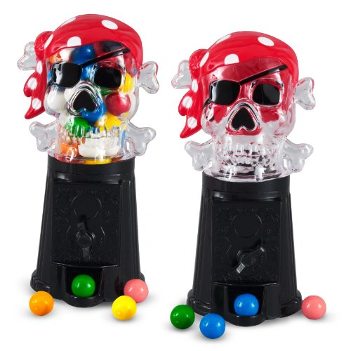 Rhode Island Novelties 160430 Pirate Bubble Gumball Machine