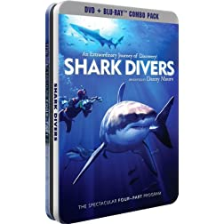 Shark Divers - Documentary Collection - DVD + BD - Collectable Tin [Blu-ray]