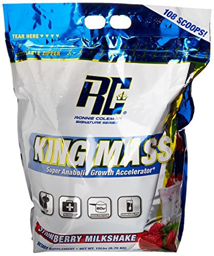 Ronnie Coleman 6.80 kg X-Large Strawberry King Mass Powder by Ronnie Coleman (Ronnie Coleman Whey Protein compare prices)