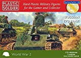 Plastic Soldier 1/72 Russian T70 Tank # WW2V20009 by Plastic Soldier Company