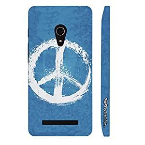 Asus Zenfone 6 Peaceful! designer mobile hard shell case by Enthopia
