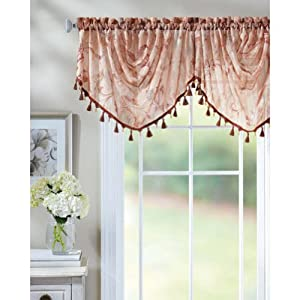 Better homes and gardens ella trumpet valance Better homes and gardens valances for small windows