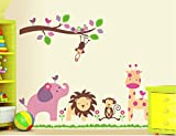 The Wallstickers Kids Zoo Wallstickers