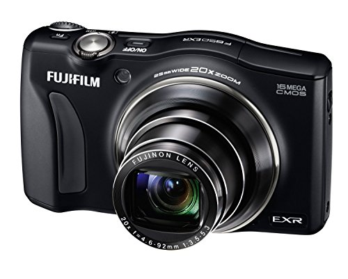 Fujifilm Finepix F850Exr {Manufacturer Refurbished} 16 Mp Compact Camera Hd 1080P Movies Video Fujinon 20X Optical Zoom Cmos With 3-Inch Lcd (Black)