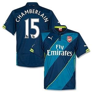 Arsenal 3rd Chamberlain Jersey 2014 / 2015 - M