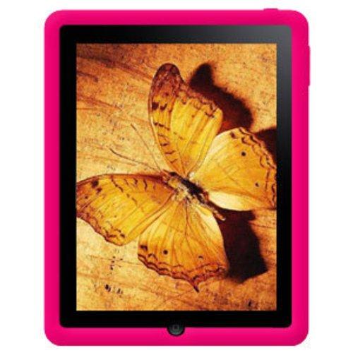 Imagen de Amzer la jalea del silicón de la piel para la tableta iPad de Apple, (Hot Pink)