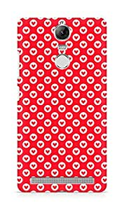 Amez designer printed 3d premium high quality back case cover for Lenovo K5 Note (Heart Pattern6)