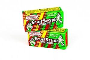 Fruit Stripe Chewing Gum Jumbo 17-Stick Packs (Box of 12)