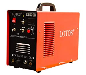 CT520d Lotos 50a Plasma Cutter 200a Tig/stick Arc Welder 110/220vac All-in-one with Stick Aluminum Welding Feature from Lotos