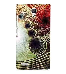 Modern Art Design Pattern 3D Hard Polycarbonate Designer Back Case Cover for Xiaomi Redmi Note :: Xiaomi Redmi Note 4G