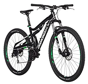 "Diamondback Bicycles Recoil 29er Complete READY RIDE Full Suspension Mountain Bike, 18""/Medium Black from Diamondback Bikes"