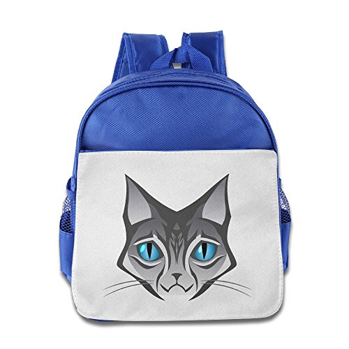 saxon-kids-funny-royalblue-toys-150g-cat-face-logo-bag