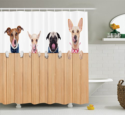 Dog Lover Shower Curtain