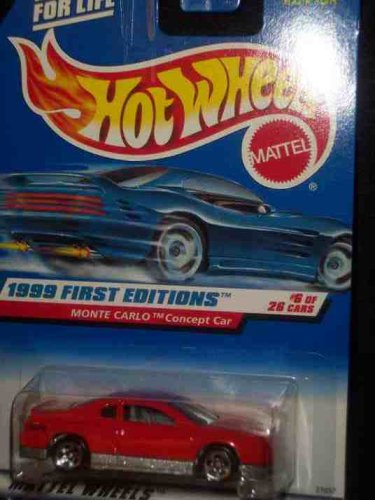 1999 First Editions #6 Monte Carlo Concept Car Red 5-Spoke #910 Mint