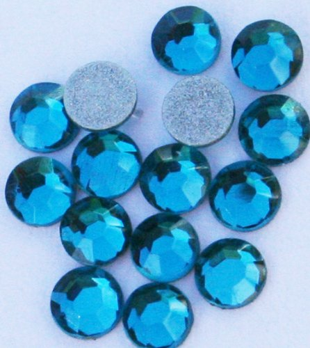 Zinkcolor Crystal Rhinestone Ss10 Blue Zircon 20P Cell Phone Embellishment