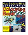 New Zealand Birds Conservation Colouring Book