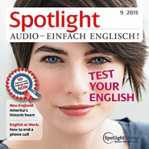 Spotlight Audio - Test your English 9/2015 Hörbuch