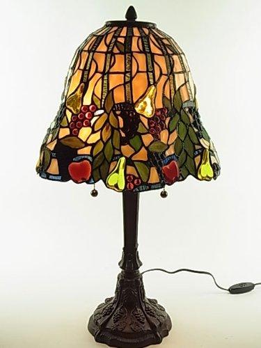 『ステンドグラスランプ』フルーツパラダイス 14インチ・テーブルランプ(GM14F405)