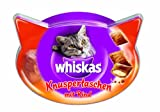 Whiskas Snacks Knuspertaschen mit Rind