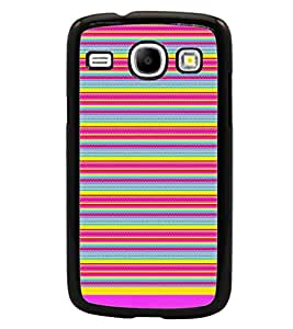 PrintDhaba Tribal Pattern D-1727 Back Case Cover for SAMSUNG GALAXY CORE i8262 (Multi-Coloured)