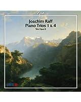 Joachim Raff: Piano Trios 1 & 4