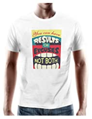 """PosterGuy """"Saving One Pixel At A Time"""" White T-Shirt By NASSCOM 10000 Startups"""