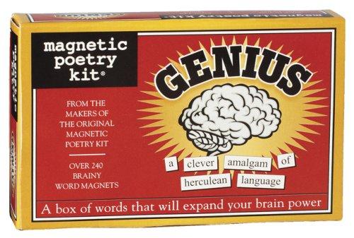 Genius-Magnetic Poetry Kit