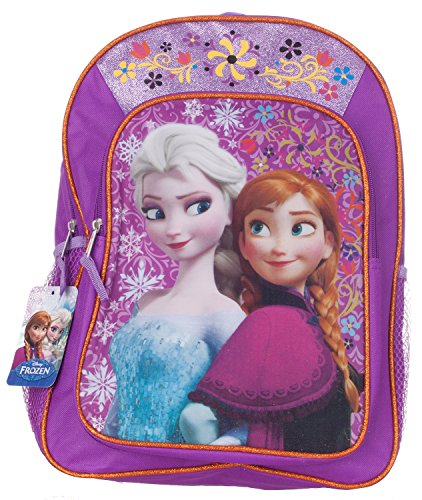 Review Of Disney Frozen Backpack Elsa & Anna Sisters Love