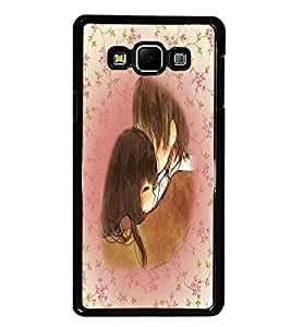 PrintDhaba Couple D-5447 Back Case Cover for SAMSUNG GALAXY E7 (Multi-Coloured)