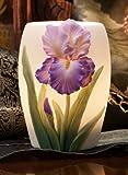 Purple Bearded Iris Night Lamp – Ibis & Orchid Design Collection