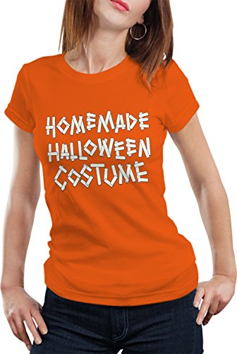 BeWild Brand® - Home Made Halloween Costume Girls T-shirt