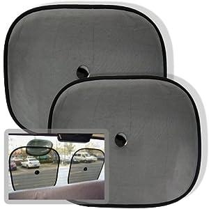 Set of 2 Car Window Sun Shade Visors