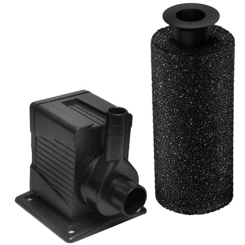 Beckett dp250 280 gph pump for ponds and fountains for Pond pre filter box