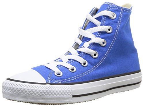 Converse, All Star Hi Canvas Seasonal, Sneaker, Unisex - adulto, Blu (Light Sapphire), 39