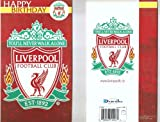OFFICIAL LIVERPOOL FC HAPPY BIRTHDAY CARD
