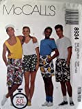 Mccall's Sewing Pattern 8934 Boxer Shorts in 3 Lengths Size Xsmall (32 1/2-33 1/2), The Easy 60 Minute Pattern