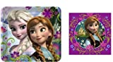 Disney's Frozen Party 9 Square Lunch/Dinner Plates (1) set of 8 and Disney Frozen - Lunch Napkins (1) set of 16