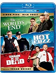 The World\'s End / Hot Fuzz / Shaun of the Dead Trilogy (Blu-ray + Digital HD UltraViolet)