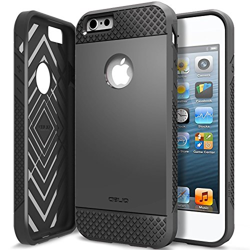 iPhone 6 Plus Case, Obliq [Non-Slip] [Slim Fit] iPhone 6 Plus (5.5) Case [Flex Pro][Black]