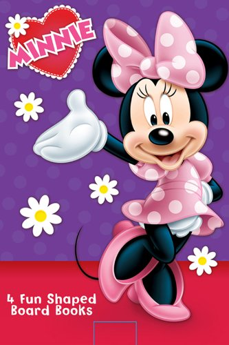 Disney Minnie Mouse Board Book Book Set