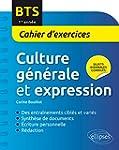 Bts Culture Generale et Expression Ca...