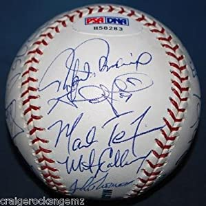 Mark Teixeira Alex Rodriguez Palmero 2003 Texas Rangers Signed Baseball - PSA DNA... by Sports+Memorabilia