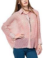 IRONI Camisa Mujer (Coral)