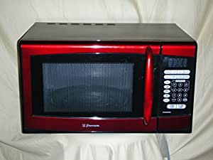 Emerson MW8999RD 900 Watt Microwave Oven - Red